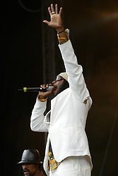 will.i.am, The Black Eyed Peas perform on the main stage at T in the Park 2004..Pic ©2010 Michael Schofield. All Rights Reserved.