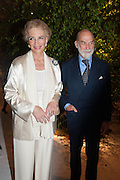 PRINCESS MICHAEL OF KENT; PRINCE MICHAEL OF KENT, The Cartier Chelsea Flower show dinner. Hurlingham club, London. 20 May 2013.