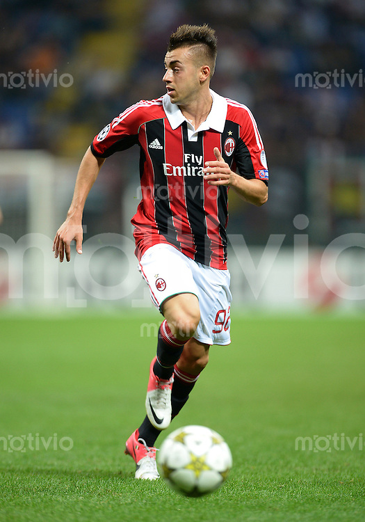 FUSSBALL   CHAMPIONS LEAGUE   SAISON 2012/2013   GRUPPENPHASE   AC Mailand - Anderlecht                            18.09.2012 Stephan El Shaarawy (AC Mailand)