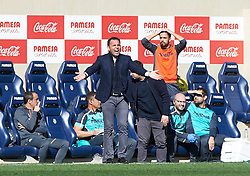 February 3, 2019 - Villarreal, Castellon, Spain - Javier Calleja of Villarreal reacts during the La Liga match between Villarreal and Espanyol at Estadio de la Ceramica on February 3, 2019 in Vila-real, Spain. (Credit Image: © Maria Jose Segovia/NurPhoto via ZUMA Press)