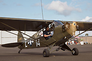 L-4J Grasshopper prepping for flight at Warbirds Over the West.