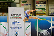 Annalisa Elmi  from Putinati team during the Italian Rhythmic Gymnastics Championship in Padova, 25 November 2017.