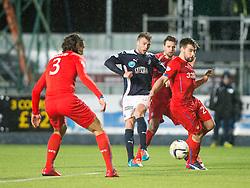 Falkirk's Rory Loy. Falkirk 1 v 1 Rangers, Scottish Championship game played 27/2/2014 at The Falkirk Stadium .