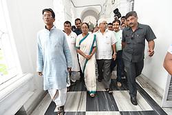 July 4, 2017 - Kolkata, India - Meer Kumar  Candidate of President election at the election campaign West Bengal Assembly house on July 04,2017 in Kolkata,India. (Credit Image: © Debajyoti Chakraborty/NurPhoto via ZUMA Press)