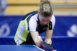 Natalia Partyka of Poland at  10th Slovenian Open Table Tennis Championships - Pro Tour Velenje Slovenian Open tournament, in Round 1, on January 15, 2009, in Red sports hall, Velenje, Slovenia. (Photo by Vid Ponikvar / Sportida)