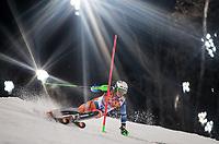 Alpint<br /> OL Sochi 2014<br /> 22.02.2014<br /> Foto: imago/Digitalsport<br /> NORWAY ONLY<br /> <br /> Rosa Khutor Alpine Resort, Krasnaya Polyana, RUS, Sochi / Sotschi , 2014, Slalom, Herren, 2. Durchgang, im Bild Bronzemedaillen Gewinner Henrik Kristoffersen (NOR) // bronze Medalist Henrik Kristoffersen of Norway in action during the 2nd run of mens Slalom to the Olympic Winter Games Sochi / Sotschi 2014 at the Rosa Khutor Alpine Resort, Krasnaya Polyana, Russia