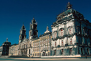 PORTUGAL, CENTRAL REGION Convent and Monastery of Mafra built in 1700's by Johann Ludwig for Joao I