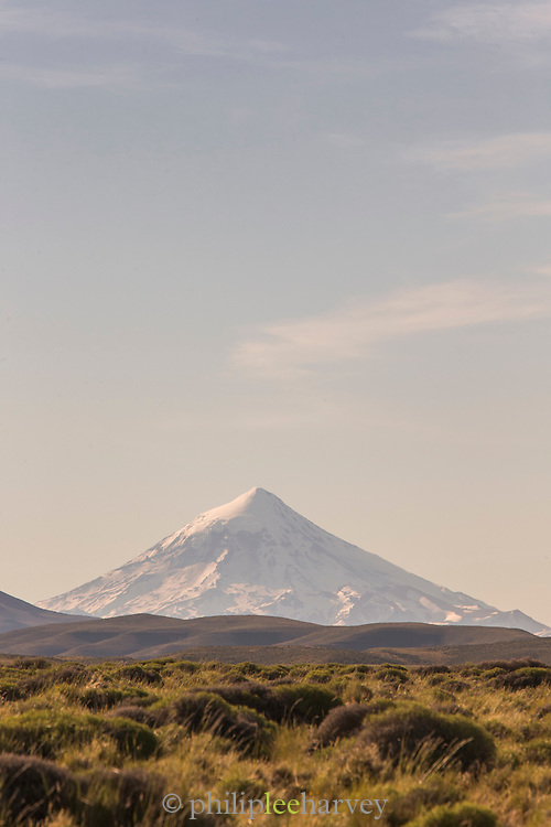 Lanin Volcano, Estancia Huechahue, Patagonia, Argentina, South America