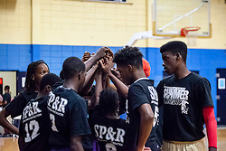 "Jah Youths get ready for the second half.  Milton M. Newton Summer Classic featuring ""Jah Youths"" versus  the ""Legends"".  Charlottel Amalie High School.  St. Thomas, USVI.  10 August 2016  © Aisha-Zakiya Boyd"