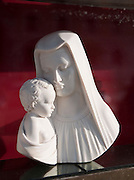 Virgin Mary and Baby Jesus Sculpture for sale, Rome, Italy.