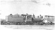 """RGS 2-8-0 #16 with plow-flanger #03 at Rico.<br /> RGS  Rico, CO  <br /> In book """"Rio Grande Southern, The: An Ultimate Pictorial Study"""" page 161"""