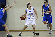 DESCRIZIONE : Roma Acqua Acetosa ritiro collegiale amichevole Nazionale Italia Donne<br /> GIOCATORE : Gaia Gorini<br /> CATEGORIA : palleggio<br /> SQUADRA : Nazionale Italia femminile donne FIP<br /> EVENTO : amichevole Italia A Italia B<br /> GARA : <br /> DATA : 17/01/2012<br /> SPORT : Pallacanestro<br /> AUTORE : Agenzia Ciamillo-Castoria/ElioCastoria<br /> Galleria : Fip Nazionali 2011 <br /> Fotonotizia : Roma Acqua Acetosa ritiro collegiale amichevole Nazionale Italia Donne