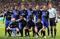 Fotball<br /> Tyskland<br /> Foto: Witters/Digitalsport<br /> NORWAY ONLY<br /> <br /> 22.10.2009<br /> <br /> Team HSV, oben v.l. Eljero Elia, Dennis Aogo, Marcell Jansen, Guy Demel, David Rozehnal, Joris Mathijsen, Frank Rost, vorn v.l. David Jarolim, Ze Roberto, Jonathan Pitroipa, Marcus Berg<br /> Europa League Celtic Glasgow - Hamburger SV<br /> Lagbilde Hamburg