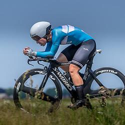 EMMEN (NED) June 16: <br />CYCLING <br />Dutch Nationals Time Trail Women Elite Larissa Drysdale