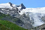 Glacier (Schlatenkees, Großglockner) High Tauern National Park (Nationalpark Hohe Tauern), Central Eastern Alps, Austria | Schlatenkees ein Gletscher am Großglockner ist mit etwas mehr als 8 km Länge der größte Gletscher Österreichs und der längste der Ostalpen. Nationalpark Hohe Tauern, Osttirol in Österreich