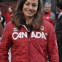 Canadian Olympic gold medallist, Maelle Ricker