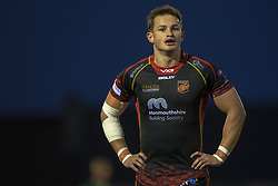 November 3, 2018 - Galway, Ireland - Hallam Amos of Dragons during the Guinness PRO14 match between Connacht Rugby and Dragons at the Sportsground in Galway, Ireland on November 3, 2018  (Credit Image: © Andrew Surma/NurPhoto via ZUMA Press)