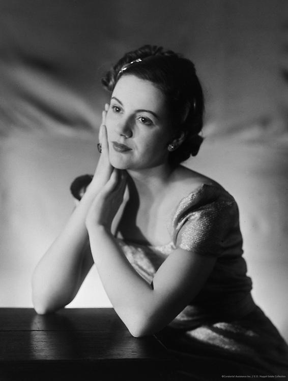 Ursula Strachey, actress, 1936