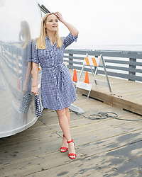 "Reese Witherspoon is currently busy filming the second season of HBO hit Big Little Lies. And the 42-year-old actress — who as well as starring in the show is also a producer — took the opportunity to use the pretty Monterey, California, backdrop to do a photoshoot to launch the summer campaign for her Draper James clothing line. Reese is seen in a variety of outfits from the collection while on location of the hugely popular twisted drama. Speaking about the shoot, Reese explained: ""It was fun to merge my worlds together for a day and I'm excited to give you a sneak peek into my life as an actor, producer and founder and creative director of Draper James."" In several shots, Reese is seen posing by a Bambi Airstream trailer, which appear to be stacked full of shoes. The mother-of-two said that the beachfront is her favorite place to film in Monterey on account of the rich nature on offer and asked about her filming rituals she added: ""Before tough scenes, we have really fun dance parties in our trailers! It helps us not to take ourselves too seriously and brings some fun to set."" Asked what is to come in season 2 of Big Little Lies, Reese played it coy but did hint: ""More Lies."" The show returns in 2019 on HBO, with co-stars Nicole Kidman, Shailene Woodley, Zoe Kravitz and Oscar darling Meryl Streep is also joining the cast. 17 May 2018 Pictured: Reese Witherspoon poses in Draper James items for the summer 2018 collection while on location of her HBO show Big Little Lies in Monterey, California. Photo credit: Draper James/ MEGA TheMegaAgency.com +1 888 505 6342"