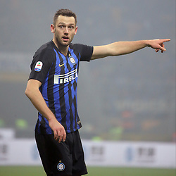 December 26, 2018 - Milan, Milan, Italy - Stefan De Vrij #6 of FC Internazionale Milano during the serie A match between FC Internazionale and SSC Napoli at Stadio Giuseppe Meazza on December 26, 2018 in Milan, Italy. (Credit Image: © Giuseppe Cottini/NurPhoto via ZUMA Press)