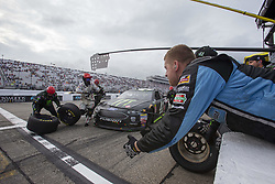 July 22, 2018 - Loudon, New Hampshire, United States of America - Kurt Busch (41) makes a pit stop during the Foxwoods Resort Casino 301 at New Hampshire Motor Speedway in Loudon, New Hampshire. (Credit Image: © Stephen A. Arce/ASP via ZUMA Wire)