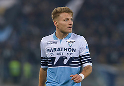 February 26, 2019 - Rome, Italy - Ciro Immobile during the Italian Cup football match between SS Lazio and AC Milan at the Olympic Stadium in Rome, on february 26, 2019. (Credit Image: © Silvia Lore/NurPhoto via ZUMA Press)