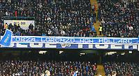 Striscione Tifosi del Napoli, per Lorenzo Insigne Napoli, banner,fans, supporters  <br /> Napoli 05-03-2016 Stadio San Paolo<br /> Football Calcio Serie A 2015/2016 Napoli - Chievo<br /> Foto Cesare Purini / Insidefoto