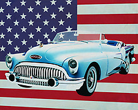 The Buick Skylark from 1956 is very American. Big, lots of space and a powerful engine. In the 50's of last century that was more the case in the U.S.A. Because it was the time that the car really broke through; If you know that the U.S.A. is very vast you need a car that can drive the many kilometers and that this should be done in luxury.<br />