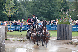 Degrieck Dries, BEL, Charlie, Dirk, Garrelt, Grenadier<br /> FEI European Driving Championships - Goteborg 2017 <br /> © Hippo Foto - Dirk Caremans<br /> 26/08/2017,