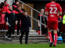 Bristol City head coach Lee Johnson   - Mandatory by-line: Joe Meredith/JMP - 04/02/2017 - FOOTBALL - Ashton Gate - Bristol, England - Bristol City v Rotherham United - Sky Bet Championship