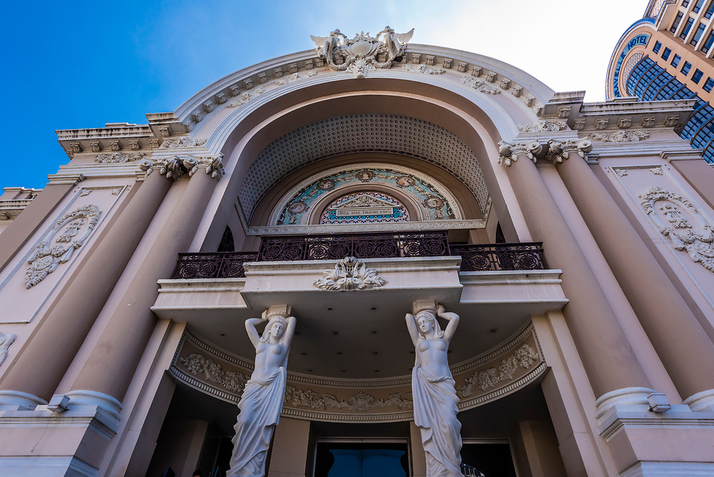 Saigon Opera House (aka Ho Chi Minh Municipal Theatre), Ho Chi Minh City, Vietnam.