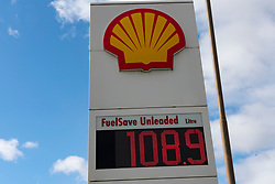 Hamilton, Scotland, UK. 1 April, 2020. Petrol stations are facing closure as the price of fuel plummets. The Petrol Retailers Association (PRA) said sites in rural areas where fuel use had collapsed the most were particularly vulnerable.The warning comes as fuel prices had their biggest weekly fall since currency records began. Iain Masterton/Alamy Live News