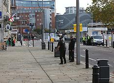 Gunwharf Quays evacuated
