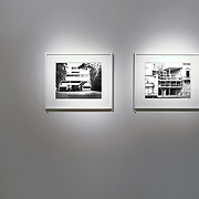 """Buenos Aires, Argentina, 2011: Exhibition of Le Corbusier works by Alejandro Sala, architecture photographer """"On the traces of Le Corbusier"""". Photographs by Alejandro Sala (Historical archivi AS)"""