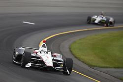 August 19, 2018 - Long Pond, Pennsylvania, United Stated - JOSEF NEWGARDEN (1) of the United States take to the track for the ABC Supply 500 at Pocono Raceway in Long Pond, Pennsylvania. (Credit Image: © Chris Owens Asp Inc/ASP via ZUMA Wire)