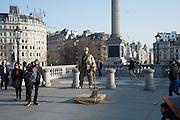 Yoda, Trafalgar sq. London. 17 March