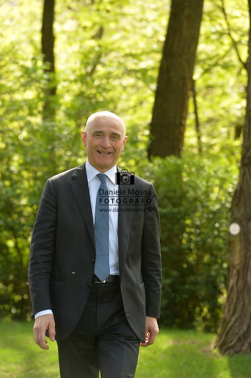 Battista Polonioli, titolare del Hotel Ristorante Villa Madruzzo via Ponte Alto, 26 – 38121 Trento (TN), Trento 13 Aprile 2016 © foto Daniele Mosna