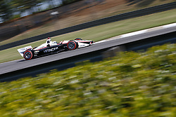 April 20, 2018 - Birmingham, Alabama, United States of America - April 20, 2018 - Birmingham, Alabama, USA: JOSEF NEWGARDEN (1) of the United States takes to the track to practice for the Honda Grand Prix of Alabama at Barber Motorsports Park in Birmingham, Alabama. (Credit Image: © Justin R. Noe Asp Inc/ASP via ZUMA Wire)