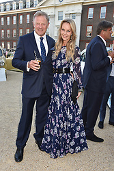 Lord St.John of Bletso and Lady St.John of Bletso at the Concours d'éléphant in aid of Elephant Family held at the Royal Hospital Chelsea, London, England. 28 June 2018.