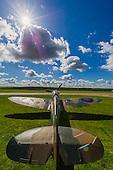 Christies Spitfire and WW2 Veteran Pilot