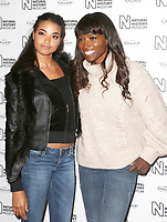 Ella Balinska & Lorraine Pascale, Natural History Museum Ice Rink - Launch Event, London UK, 25 October 2017, Photo by Brett D. Cove