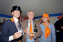 Gal Edward (NED), Cees en Tosca Visser<br /> European Championship Dressage Windsor 2009<br /> Houtzager Marc (NED) - Opium VS