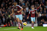 Winston Reid of West Ham United in action. Barclays Premier league match, West Ham Utd v Swansea city at the Boleyn ground, Upton Park in London on Sunday 7th December 2014.<br /> pic by John Patrick Fletcher, Andrew Orchard sports photography.