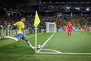 Neymar of Brazil takes a corner kick during the 2018 FIFA World Cup Russia, Group E football match between Erbia and Brazil on June 27, 2018 at Spartak Stadium in Moscow, Russia - Photo Thiago Bernardes / FramePhoto / ProSportsImages / DPPI