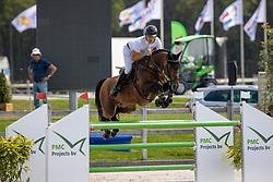 Pals Johnny, NED, Fernando BH<br /> Nederlands Kampioenschap Springen<br /> De Peelbergen - Kronenberg 2020<br /> © Hippo Foto - Dirk Caremans<br />  09/08/2020