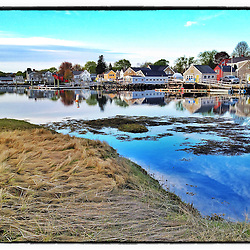 """South End in Portsmouth, New Hampshire, as seen from Pierce Island. iPhone photo - suitable for print reproduction up to 8"""" x 12""""."""