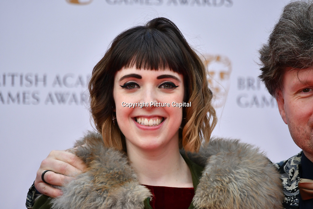 Lottie Bevan Arrivers at the British Academy (BAFTA) Games Awards at Queen Elizabeth Hall, Southbank Centre  on 4 March 2019, London, UK.