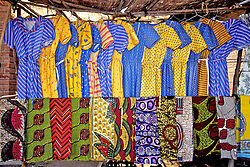 Dresses and Fabric At Market