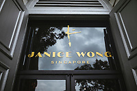 Janice Wong at the National Museum, Singapore.