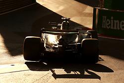 June 25, 2017 - Baku, Azerbaijan - Motorsports: FIA Formula One World Championship 2017, Grand Prix of Europe, .#44 Lewis Hamilton (GBR, Mercedes AMG Petronas Formula One Team) (Credit Image: © Hoch Zwei via ZUMA Wire)